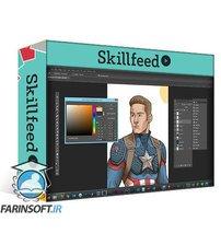 دانلود Skillshare My Coloring Process: A Step-By-Step Guide In Adobe Photoshop