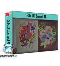 دانلود Skillshare Gouache Florals: Explore Shape, Color and Creative Composition
