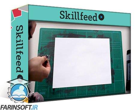 دانلود Skillshare Handmade Paint Textures for Designers & Illustrators