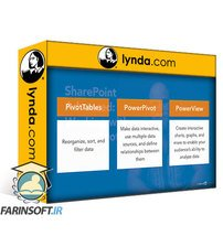دانلود lynda SharePoint Advanced: Working with PowerPivot