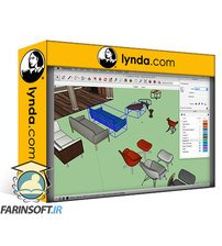 دانلود lynda SketchUp: Modeling Interiors from Photos