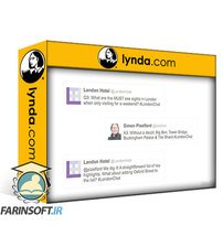دانلود lynda Twitter Marketing: Organizing Chats