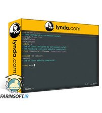 دانلود lynda Learning Zsh
