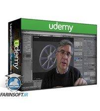 دانلود Udemy Build a Flywheel & Piston in Blender