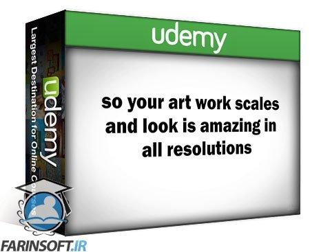 دانلود Udemy Create original vector game art with Inkscape for free!