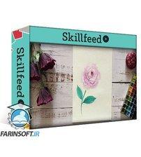 دانلود Skillshare Learn to Paint Loose Watercolor Roses in 3 Different Ways