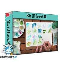 دانلود Skillshare Painting landscapes with watercolor using a reference photo