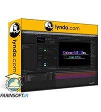 دانلود lynda Creating Titles in Premiere with the Essential Graphics Panel