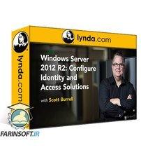 دانلود lynda Windows Server 2012 R2: Configure Identity and Access Solutions
