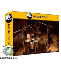 دانلود lynda Advanced Drum Recording Session with Josh Freese