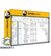 دانلود lynda Microsoft Project 2010 Essential Training