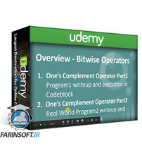 دانلود Udemy Bitwise Operators in C In Depth – Hands On