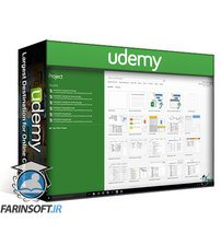 دانلود Udemy Microsoft Project Beginner to Advanced Bundle