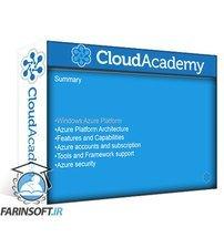 دانلود Cloud Academy Azure Technical Fundamentals AZ-110