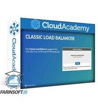 دانلود Cloud Academy Using Elastic Load Balancing & EC2 Auto Scaling to support AWS workloads