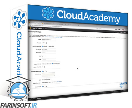دانلود Cloud Academy Working with AWSs Domain Name System Amazon Route 53
