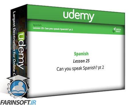 دانلود Udemy Learn Conversational Spanish with LinguaBoost