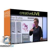 دانلود CreativeLive Advanced Techniques with Brushes in Photoshop CC