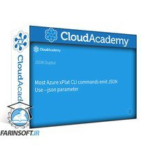دانلود Cloud Academy Getting Started with Azure Cross Platform CLI Automation
