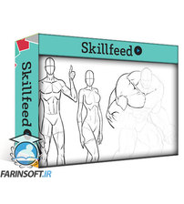 دانلود Skillshare How to Draw Various Body Types and Proportions for Comics