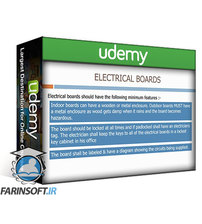 دانلود Udemy Construction Site Electrical System Design
