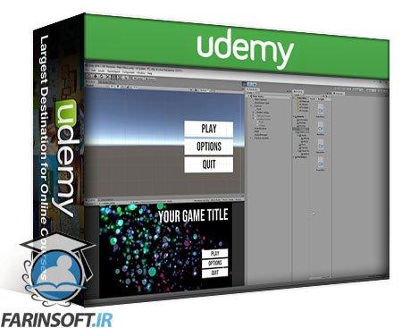 دانلود Udemy Learn To Create A Complete Menu System in Unity