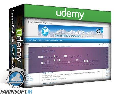 دانلود Udemy STM32Fx Microcontroller Custom Bootloader Development