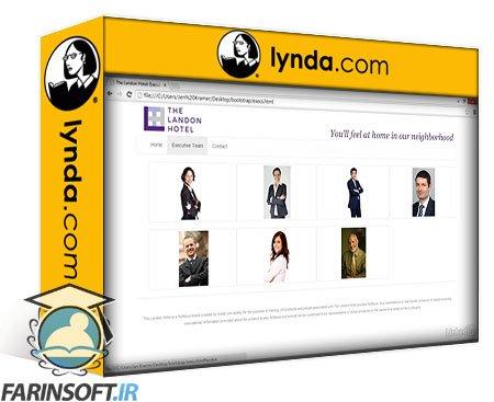 دانلود lynda Bootstrap 3: Adding Interactivity to Your Site
