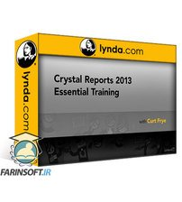 دانلود lynda Crystal Reports 2013 Essential Training