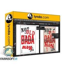 دانلود lynda Designing a Typographic Dada Poster