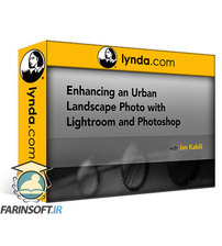 دانلود lynda Enhancing an Urban Landscape Photo with Lightroom and Photoshop