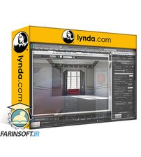 دانلود lynda Learning mental ray in 3ds Max