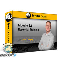 دانلود lynda Learning Moodle 2.6