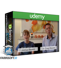 دانلود Udemy Coding for Kids – Learn to program with a Dad & Son