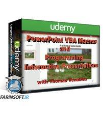 دانلود Udemy PowerPoint VBA Macros and Coding Interactive Presentations