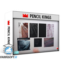 دانلود PencilKings Drawing Fabrics With Colored Pencils – Patterns & Creases