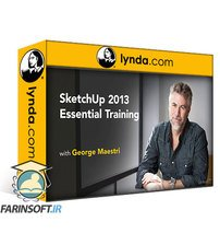 دانلود lynda SketchUp 2013 Essential Training