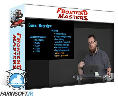 دانلود Frontend Masters JavaScript New Feature Process