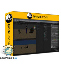 دانلود lynda Animating Characters with Mecanim in Unity 3D