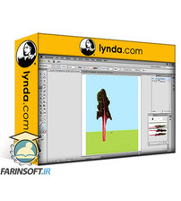 دانلود lynda Artistic Painting with Illustrator: Object-Creation Brushes