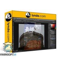 دانلود lynda Creating Dreamscapes in Photoshop: Castle on the Mountain