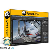 دانلود lynda Digital Painting in Photoshop: Inner City Express