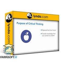 دانلود lynda Critical Thinking for Better Judgment and Decision-Making