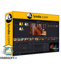 دانلود lynda Learning DaVinci Resolve 16