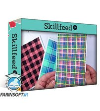 دانلود Skillshare Painting Plaid in Watercolor and Gouache