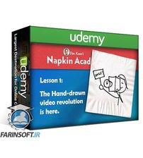 دانلود Udemy Dan Roam's Professional Hand-Drawn Whiteboard Video Course