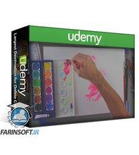 دانلود Udemy Expressive Drawing, Painting & Mixed Media Techniques Course