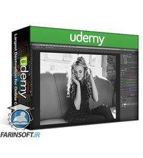 دانلود Udemy RetutPro – How To Do Black & White Colour Toning In Photoshop