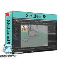 دانلود Skillshare Creating a Stylized Cartoon House in AutoDesk Maya