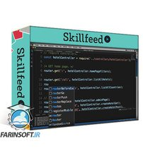 دانلود Skillshare Full Stack Web Development for Beginners 4 Part